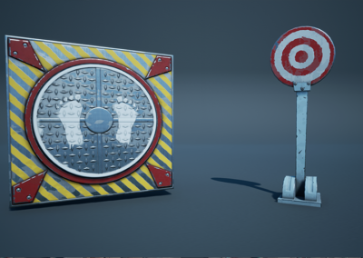 Fortnite – Target & Pad