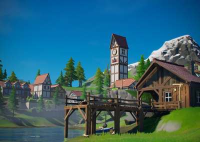 Fortnite – Mountain Village