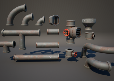 Fortnite – Pipe Set